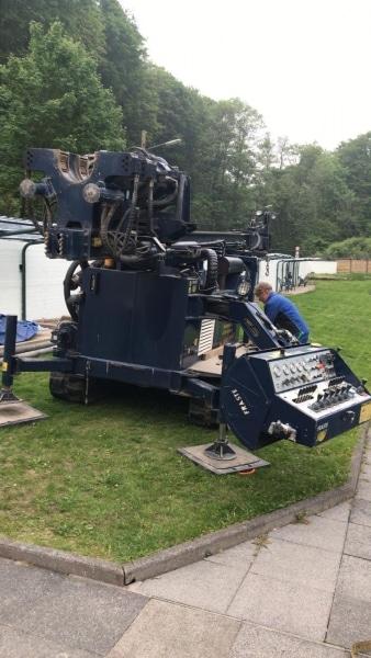 Brunnenbohrmaschine