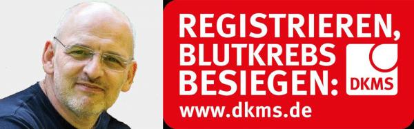 Registrieren, Blutkrebs besiegen. DKMS