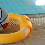 Schwimmen im Polizeibad - Schwimmhalle